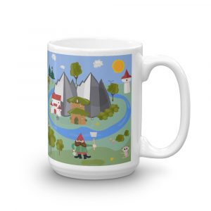 Gnome At Home Coffee Mug