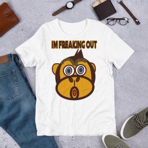 I'm Freaking Out Short-Sleeve Unisex T-Shirt