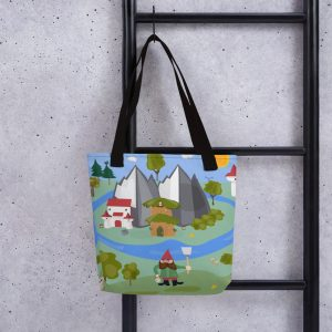 Lucky Gnome Tote Bag
